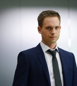 Pictured: Patrick J. Adams as Michael Ross -- (Photo by: Steve Wilkie/USA Network)