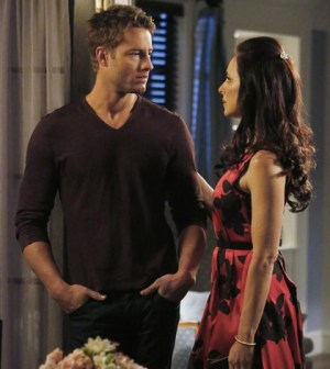 (ABC/Richard Cartwright) JUSTIN HARTLEY, MADELEINE STOWE