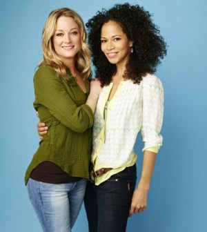 Pictured (L-R): Teri Polo as Stef and Sherri Saum as Lena -- Photo: ABC Family