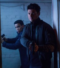 L-R: Dorian (Michael Ealy) and Det. John Kennex (Karl Urban). Co. Cr: Liane Hentscher / FOX