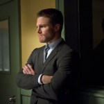 Pictured: Stephen Amell as Oliver Queen -- Photo: Diyah Pera/The CW