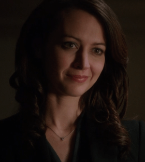 Amy Acker as Root. Image © CBS