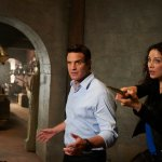 "Episode 501 ""Endless Terror"" Pictured: Eddie McClintock as Pete and Joanne Kelly as Myka. Image © Syfy"