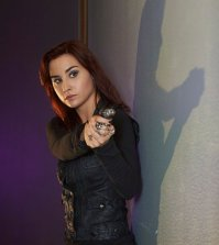 Allison Scagliotti as Claudia Donovan -- (Photo by: Russ Martin/Syfy)
