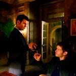 Pictured (L-R): Daniel Gillies as Elijah and Joseph Morgan as Klaus - Photo: The CW