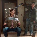 Pictured (L-R): Jared Padalecki as Sam and Reilly Dolman as Connor -- Credit: Katie Yu/The CW