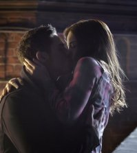 Pictured (L-R): Jay Ryan as Vincent and Kristin Kreuk as Catherine - Photo: Ben Mark Holzberg/The CW