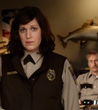 (L-R) Allison Tolman as Molly Solverson, Bob Odenkirk as Bill Oswalt -- CR: Chris Large/FX
