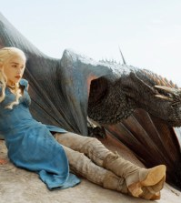 Emilia Clarke in HBO's Game of Thrones