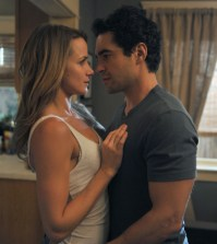 Ryan (Ramon Rodriguez, R) and Jessica (Shantel VanSanten, L) take their relationship to the next level. Co. Cr: Richard Foreman/FOX