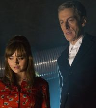 Jenna Coleman and Peter Capaldi in Doctor Who. Image © BBC