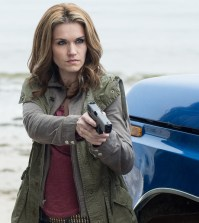 Pictured: Emily Rose as Audrey Parker -- (Photo by: Mike Tompkins/Syfy)