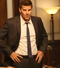 """David Boreanaz as Booth in the """"The Lance to the Heart"""" episode of Bones. Co.  Cr: Patrick McElhenney/FOX"""