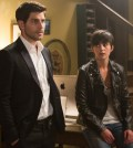 Pictured: (l-r) David Giuntoli as Nick Burkhardt, Jacqueline Toboni as Trubel -- (Photo by: Scott Green/NBC)