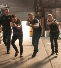 Pictured (l-r): Jason Beghe as Hank Voight, Jon Seda as  Antonio Dawson, Jesse Lee Soffer as Jay Halstead, Sophia Bush as Erin Lindsay -- (Photo by: Matt Dinerstein/NBC)