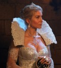 Elizabeth Mitchell as the Snow Queen. Image © ABC