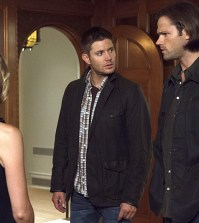 Pictured (L-R): Jensen Ackles as Dean and Jared Padalecki as Sam  -- Credit: Michael Courtney/The CW