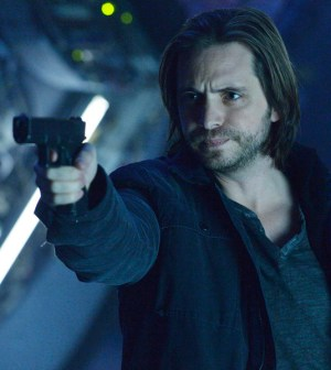 Pictured: Aaron Stanford as James Cole -- (Photo by: Ben Mark Holzberg/Syfy)