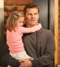 Pictured: David Boreanaz as Booth, Sunnie Pelant as Christine | Co.  Cr:  Patrick McElhenney/FOX