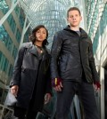MINORITY REPORT premieres this Fall on FOX. Pictured L-R: Meagan Good as Detective Vega and Stark Sands as Dash. CR: Bruce Macaulay. FOX Broadcasting.