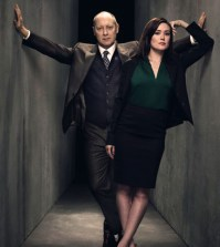 James Spader and Megan Boone in NBC's THE BLACKLIST