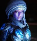 "DEFIANCE -- ""The World We Seize"" Episode 301 -- Pictured: Nichole Galicia as Kindzi -- (Photo by: David Lee/Syfy)"