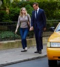 Pictured: (l-r) Christina Cole as Dr. Paula Agard, Gabriel Macht as Harvey Specter -- (Photo by: Shane Mahood/USA Network)