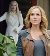 Pictured: Julie Benz as Amanda Rosewater -- (Photo by: Ben Mark Holzberg/Syfy)