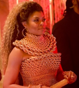 EMPIRE: Taraji P. Henson as Cookie Lyon. Co. Cr: Chuck Hodes/FOX.