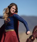 Pictured left to right: Melissa Benoist and Iddo Goldberg as Red Tornado Photo: Darren Michaels/CBS