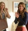 Melissa Benoist (right) and Helen Slater (left). Photo: Darren Michaels/Warner Bros. Entertainment Inc.