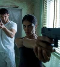 Pictured: (l-r) Ryan Guzman as Carlos Gutierrez, Nazneen Contractor as Farah Nazan -- (Photo by: Christos Kalohoridis/NBC)