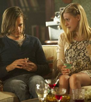 Pictured: (l-r) Jason Ralph as Quentin, Olivia Taylor Dudley as Alice -- Photo by: Carole Segal/Syfy