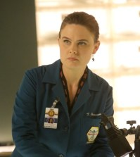 "BONES: Emily Deschanel in the ""The Monster In The Closet"" episode of BONES. Co.  Cr:  Patrick McElhenney/FOX"