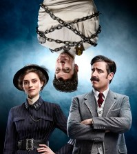 L-R: Rebecca Liddiard, Michael Weston and Stephen Mangan in HOUDINI & DOYLE premiering Monday, May 2 (9:00-10:00 PM ET/PT). © 2016 FOX Broadcasting Co. Cr: Mitch Jenkins / FOX.