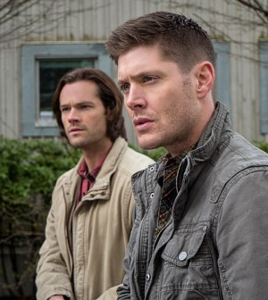 Pictured (L-R): Jared Padalecki as Sam and Jensen Ackles as Dean -- Photo: Liane Hentscher/The CW