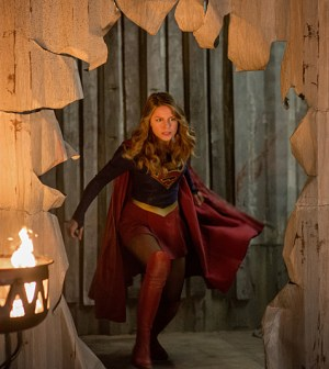Pictured: Melissa Benoist as Kara/Supergirl - Photo: Diyah Pera/The CW