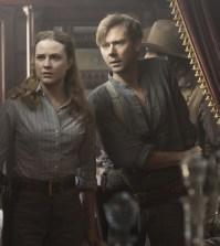 Evan Rachel Wood as Dolores and Jimmi Simpson as William. Photo © John P. Johnson/HBO