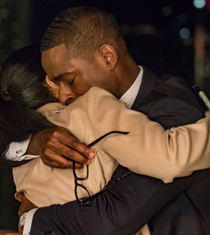 Pictured: (l-r) Susan Kelechi Watson as Beth, Sterling K. Brown as Randall -- (Photo by: Ron Batzdorff/NBC)