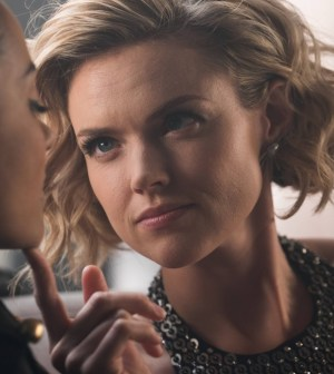 "GOTHAM: Erin Richards in the ""Mad City: Smile Like You Mean It"" episode of GOTHAM 
