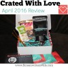 Crated With Love Review April 2016: Tea For Two (& 25% off promo code!)