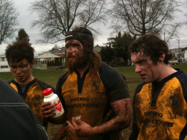 Scribes RFC win in the mud