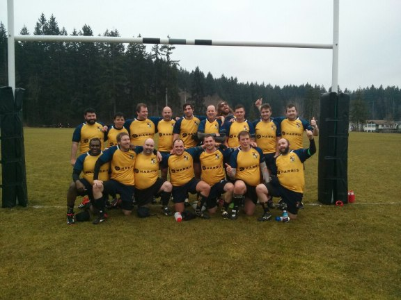 Scribes RFC Vancouver rugby team.