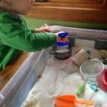 Mommy Mondays: Easter Sensory Play