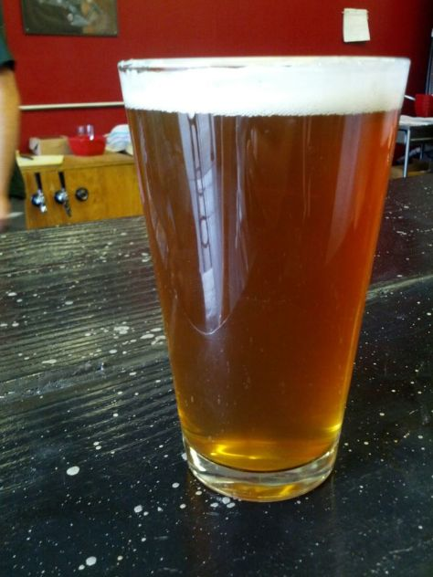 Double Hopped Andromeda IPA.