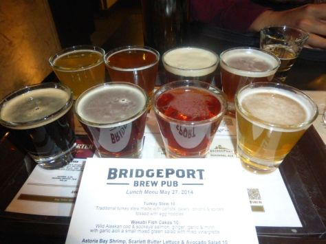Bridgeport taster flight.