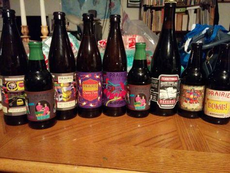 Set of Prairie Ales.