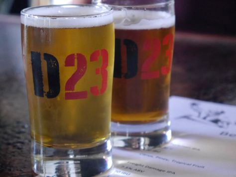 Division 23 IPA tasters