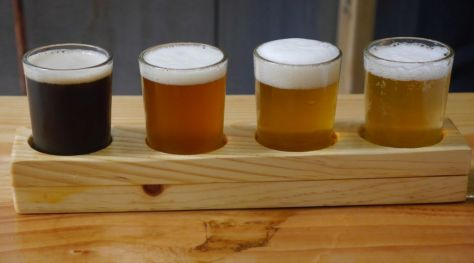 Reckless Brewing Flight 01