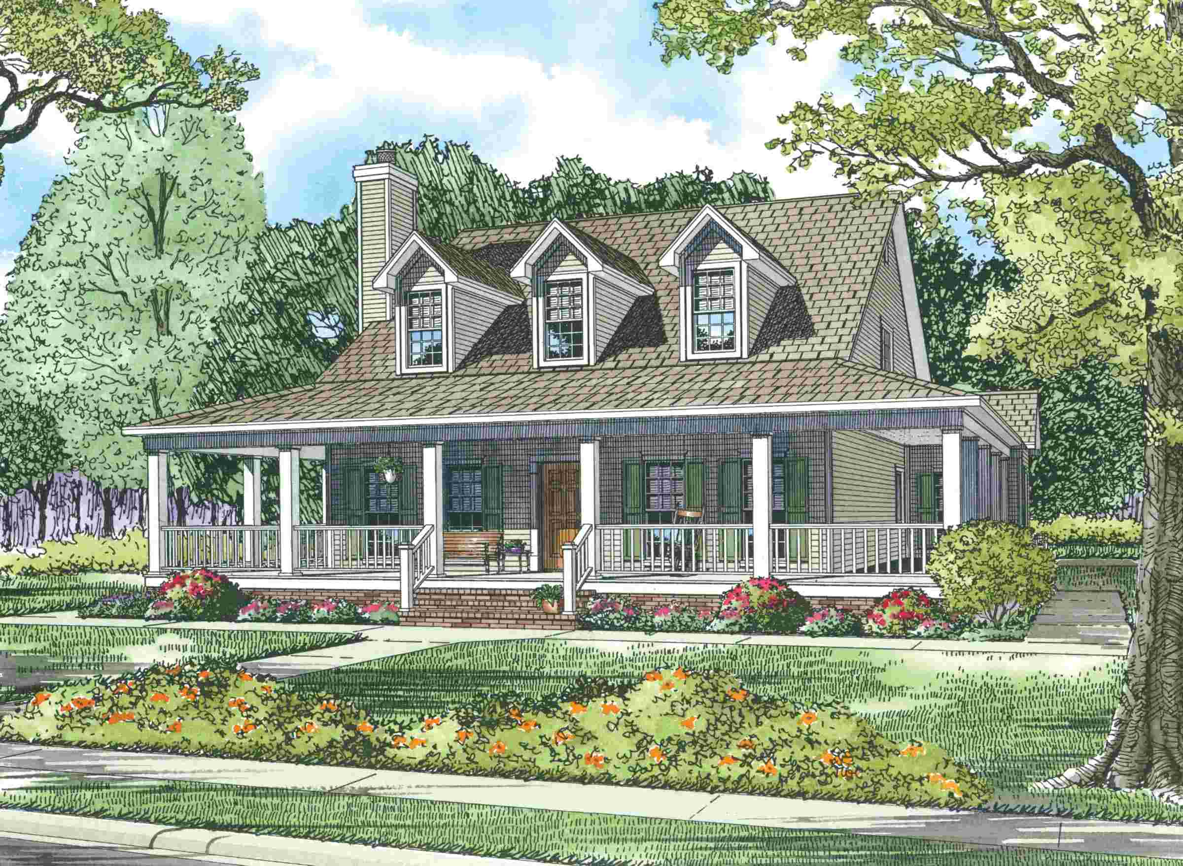 Fullsize Of House With Wrap Around Porch